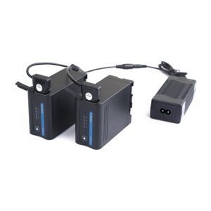 Swit PC U130B2 | Caricabatterie portatile Swit con doppio D tap | Batterie V Lock