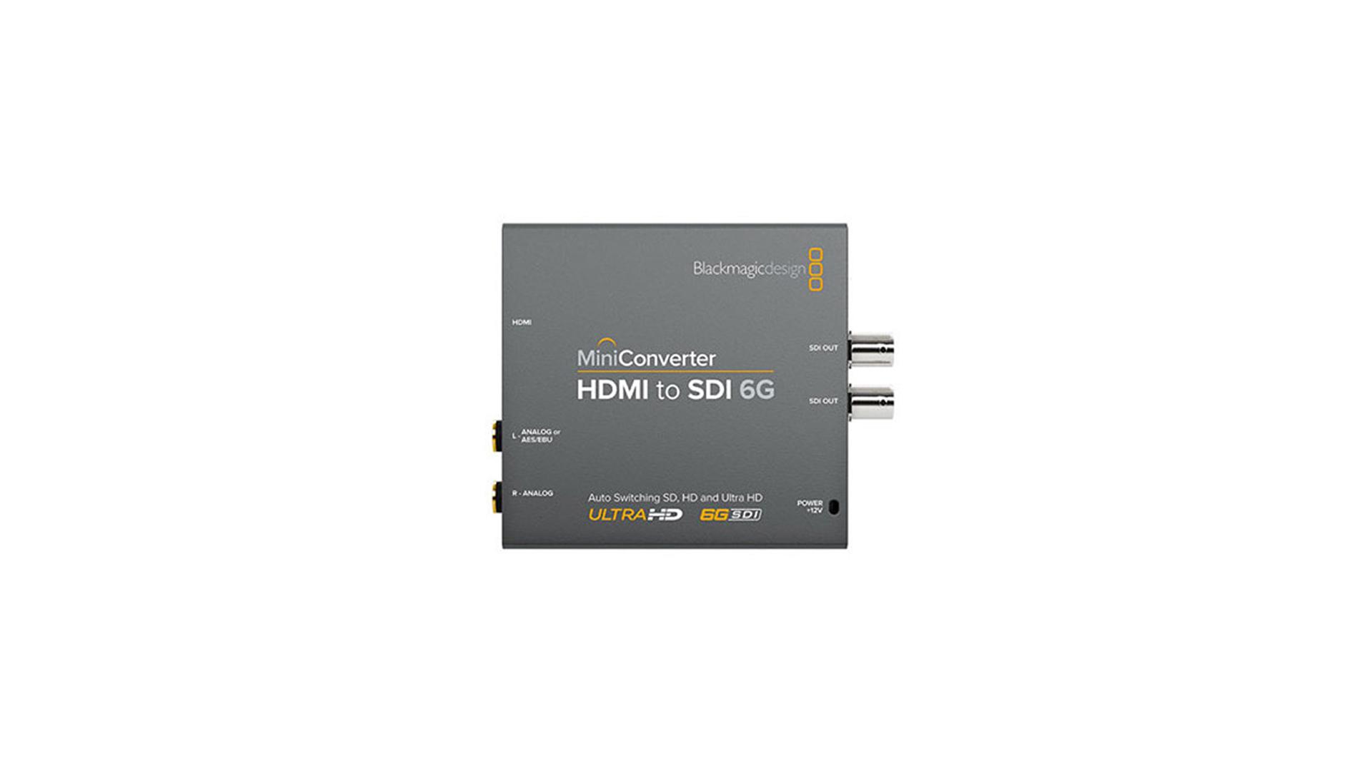 Blackmagic CONVMBHS24K6G | Mini convertitore 6G da HDMI a SDI | Convertitori | Distributori