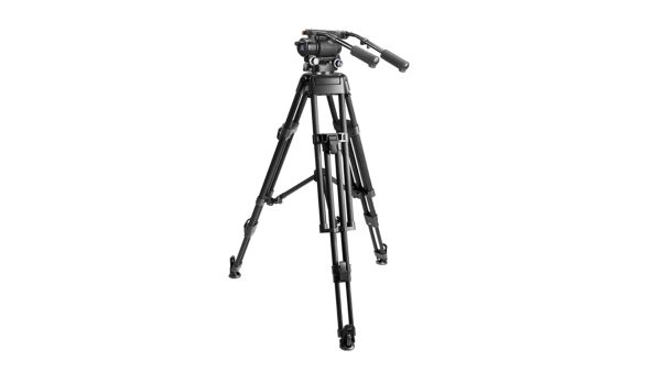 E image MOTUS32 | Cavalletto video kit MOTUS 32 con testa fluida MH32 | Kit con gambe